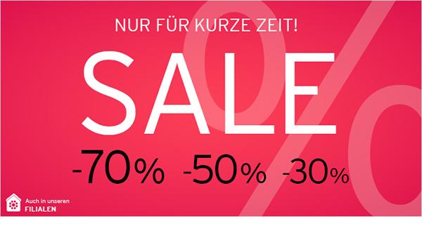Nur für kurze Zeit: Sale bei baby-walz.de - bis zu 70% reduziert