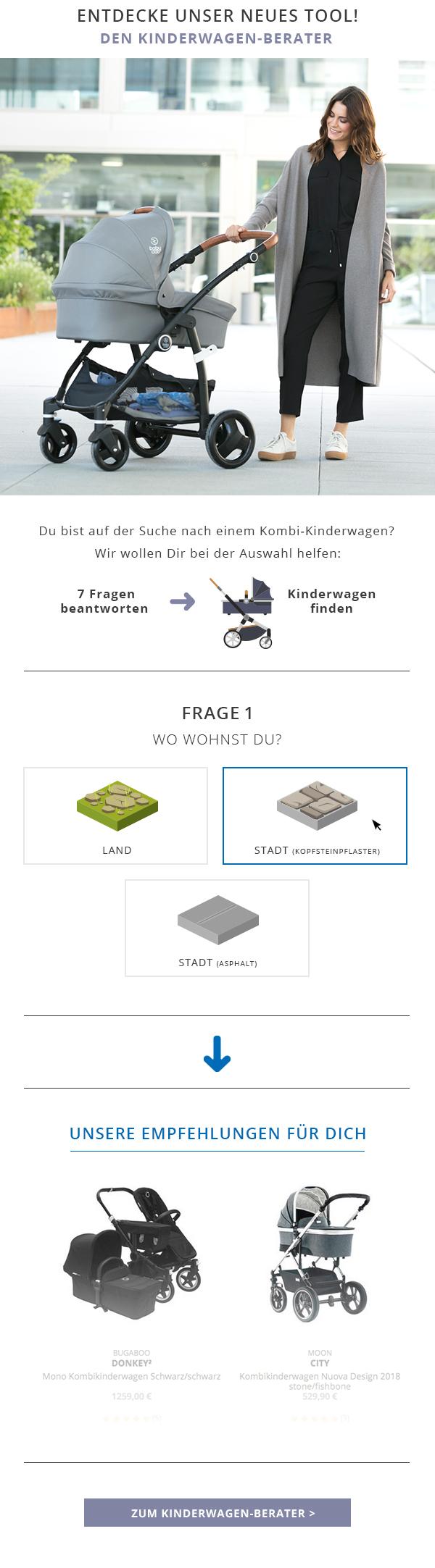 Berater Kinderwagen