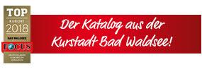 Der Katalog aus der Kurstadt Bad Waldsee!