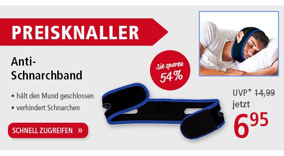 PREISKNALLER Anti-Schnarchband
